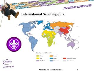 International Scouting quiz
