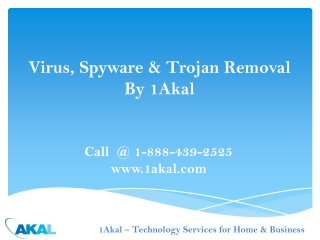 Trojan & Spyware Virus Removal