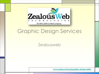 Graphic design services at ZealousWeb