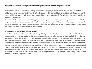 Imagine Your Children Playing Quietly Expanding Their Minds