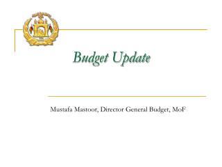 Budget Update