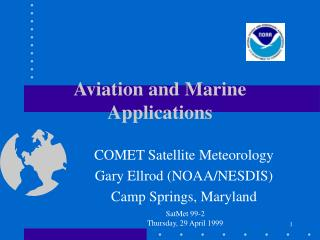 Aviation and Marine Applications