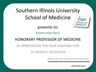 Southern Illinois University School of Medicine
