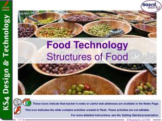 Food Technology Structures of Food