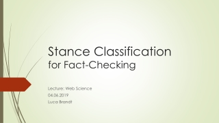 The art and science of classification: