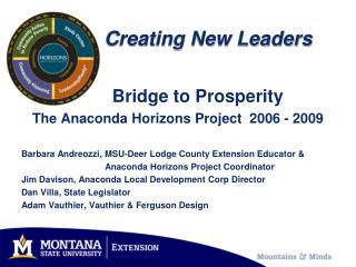 Creating New Leaders