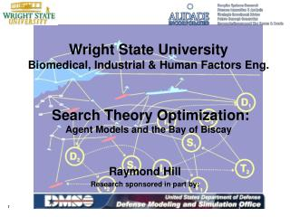 Wright State University Biomedical, Industrial  Human Factors Eng.    Search Theory Optimization: Agent Models and the B