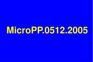 MicroPP.0512.2005