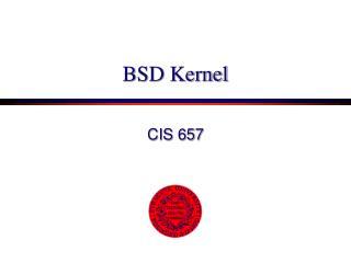 BSD Kernel