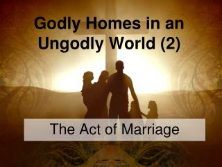 Godly Homes in an Ungodly World 2
