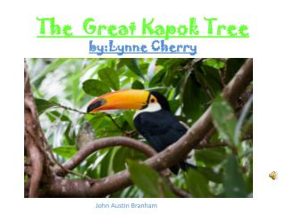 The  Great Kapok Tree by:Lynne Cherry