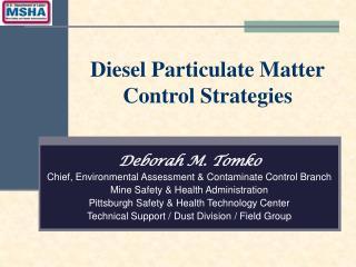 Diesel Particulate Matter Control Strategies