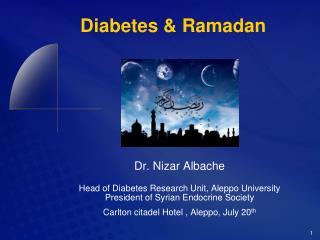 Diabetes  Ramadan