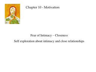 Chapter 10 - Motivation