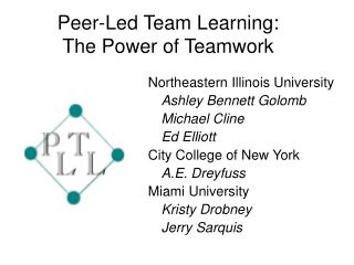 Peer-Led Team Learning: The Power of Teamwork