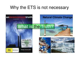 Why the ETS is not necessary