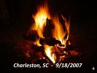Charleston, SC  -  9