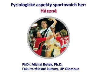 Fyziologick  aspekty sportovn ch her: H zen