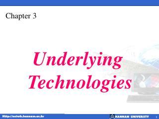 Underlying  Technologies