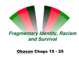 Fragmentary Identity, Racism and Survival