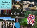 Canberra Camp 2011