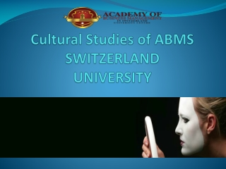 Master of Business Administration  Module Culture  Politics: International Politics