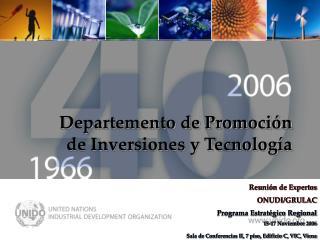 Programa ONUDI - LAC