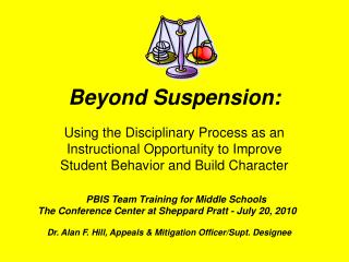 Beyond Suspension: