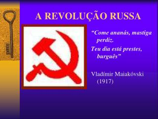 A REVOLU  O RUSSA