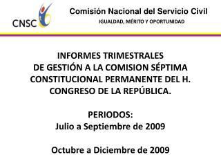 Comisi n Nacional del Servicio Civil