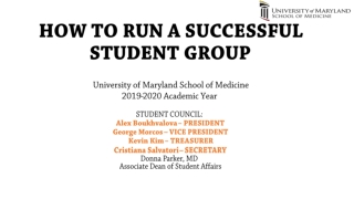 Student Affairs Business Officers