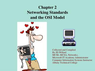 Chapter 2 Networking Standards  and the OSI Model