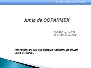 Junta de COPARMEX