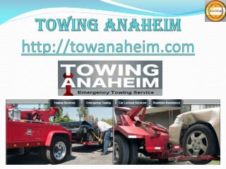 ca tow service