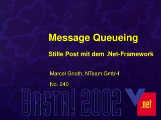Message Queueing