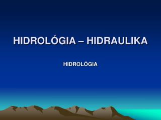 HIDROL GIA   HIDRAULIKA