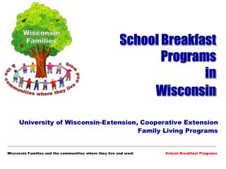 School Breakfast Programs  in  Wisconsin