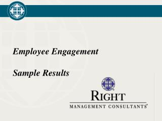 Employee Engagement  Sample Results