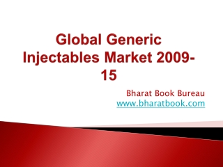 Global Generic Injectables Market 2009-15