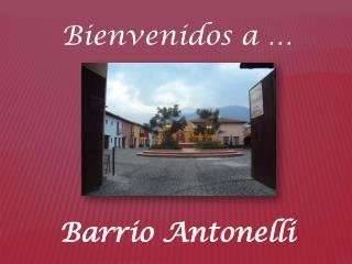 Barrio Antonelli