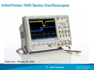 InfiniiVision 7000 Series Oscilloscopes
