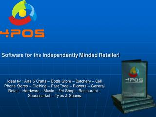 Software for the Independently Minded Retailer
