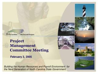 Project Management Committee Meeting