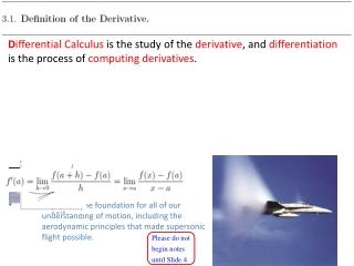 Aerodynamic Principles