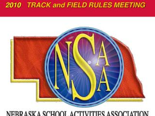 2010   TRACK and FIELD RULES MEETING