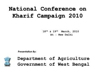 18th  19th  March, 2010   At : New Delhi
