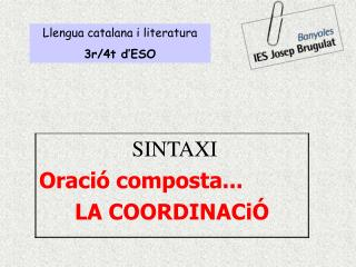 Llengua catalana i literatura 3r