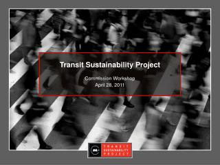 Transit Sustainability Project