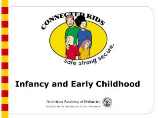 Counseling Schedule: Infancy