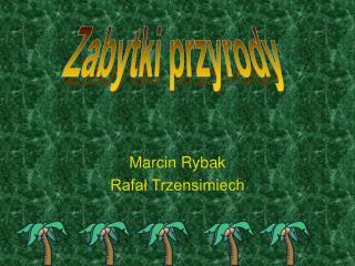 Marcin Rybak Rafal Trzensimiech